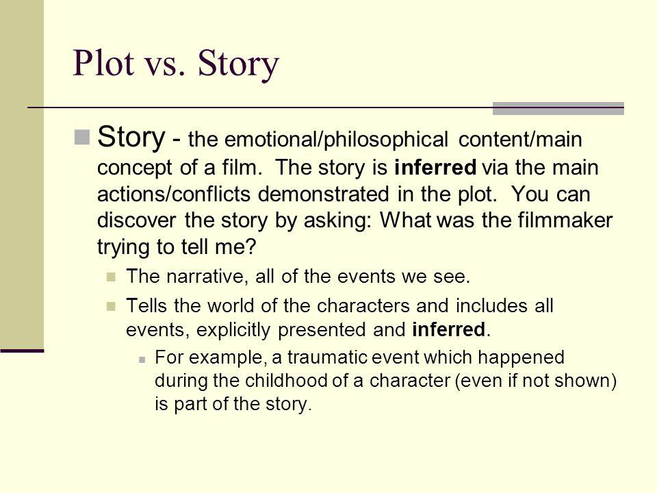 Plot vs. Story