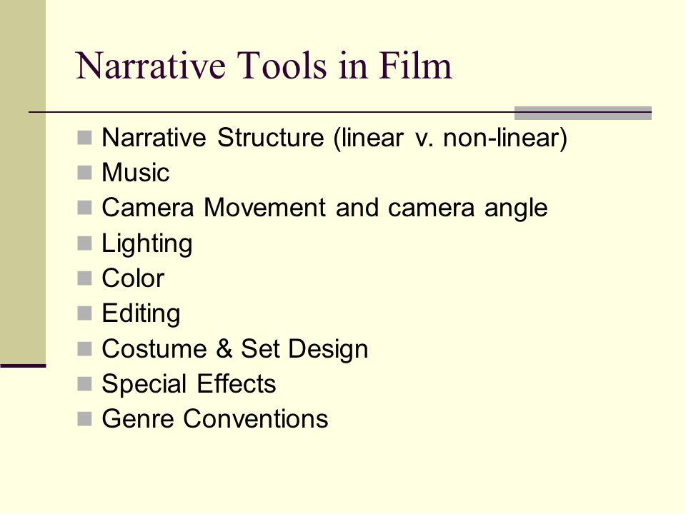 Narrative Tools in Film