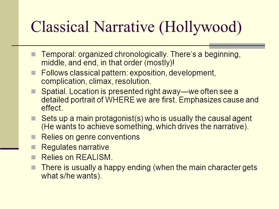 Classical Narrative (Hollywood)