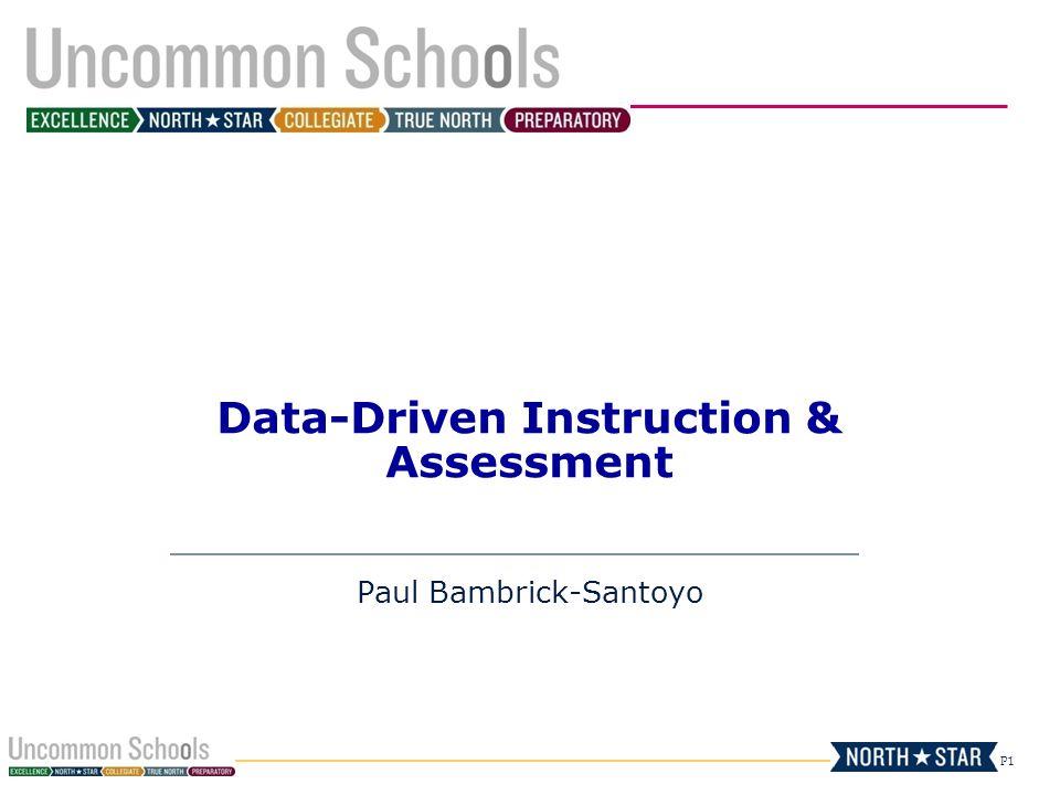 Data-Driven Instruction & Assessment