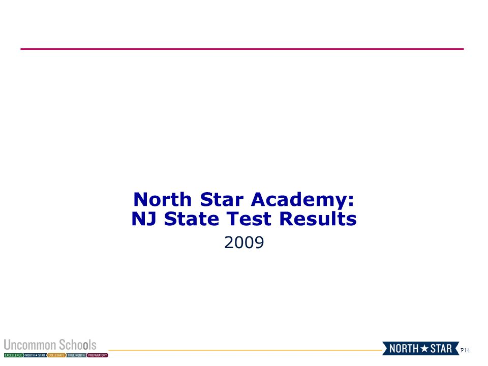 North Star Academy: NJ State Test Results
