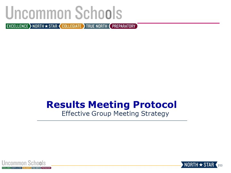 Results Meeting Protocol