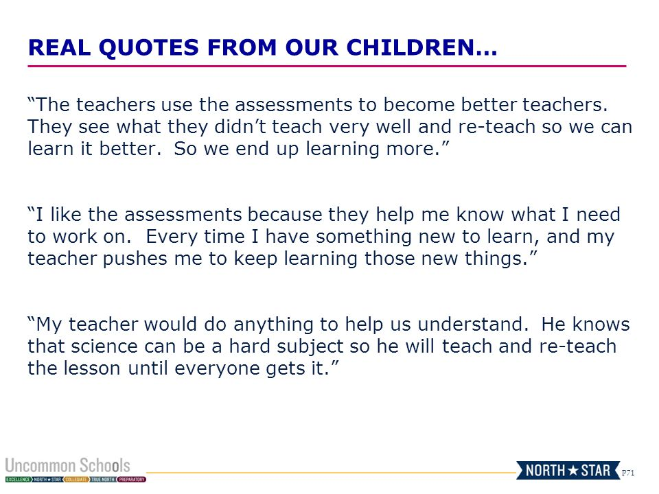 Those That Know Do Those That Understand Teach: Data-Driven Instruction & Assessment