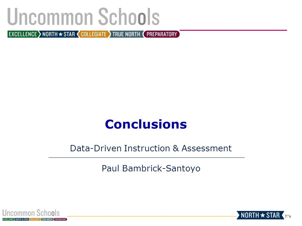 Data-Driven Instruction & Assessment Paul Bambrick-Santoyo