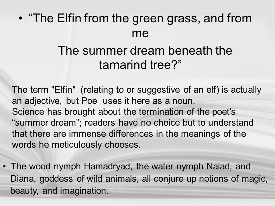 The Elfin from the green grass, and from me