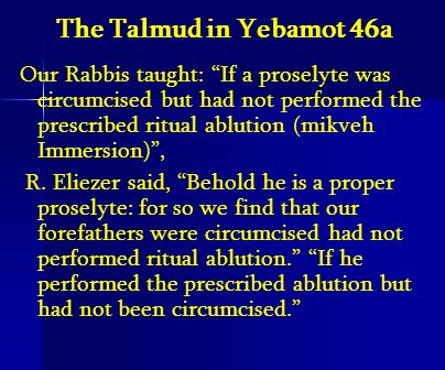The Talmud in Yebamot 46a