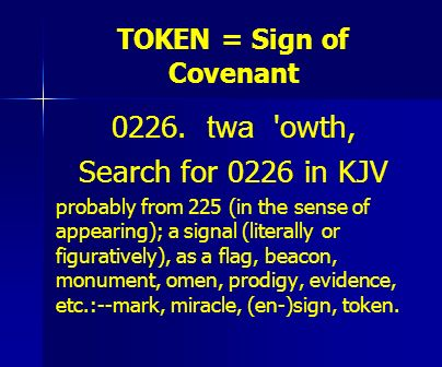 TOKEN = Sign of Covenant