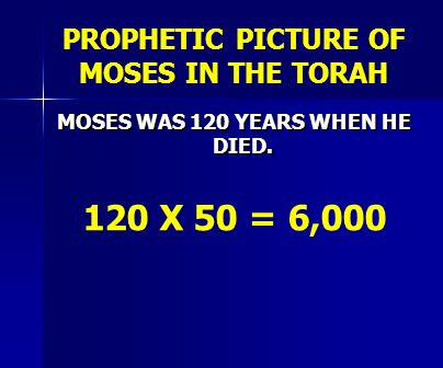 PROPHETIC PICTURE OF MOSES IN THE TORAH