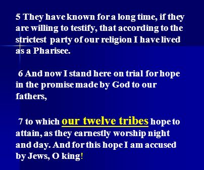 5 They have known for a long time, if they are willing to testify, that according to the strictest party of our religion I have lived as a Pharisee.