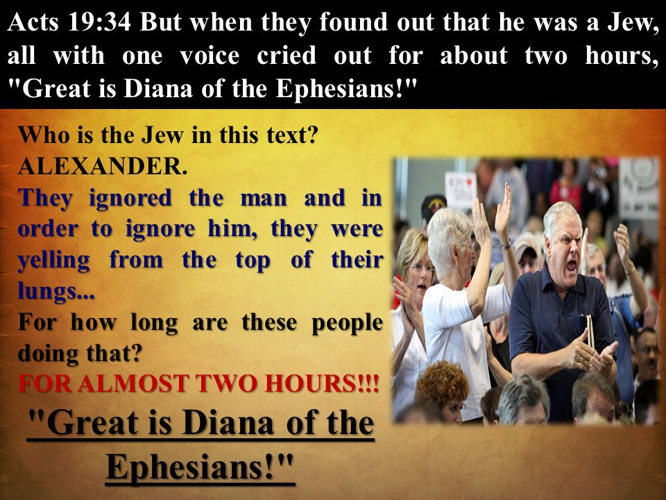 Great is Diana of the Ephesians!