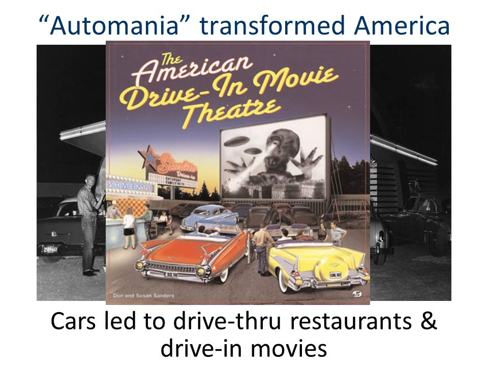 Automania transformed America