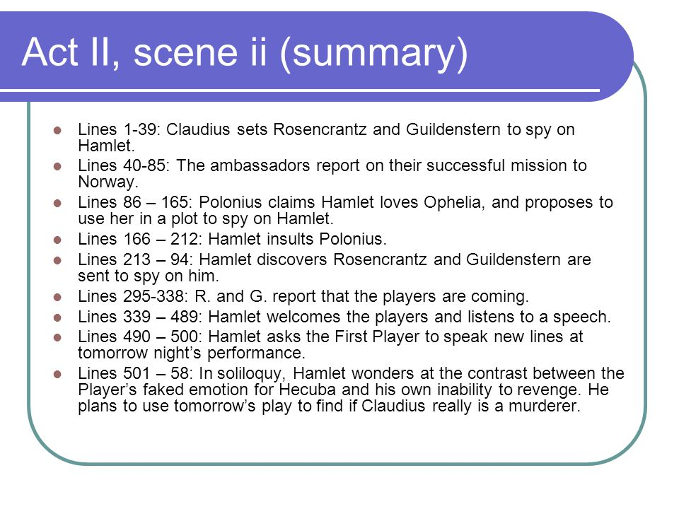 hamlet report Teacher's guide september/october 2012 guide compiled by trish tillman  the watchmen report to hamlet that a ghost that looks like the old king has been seen on the.
