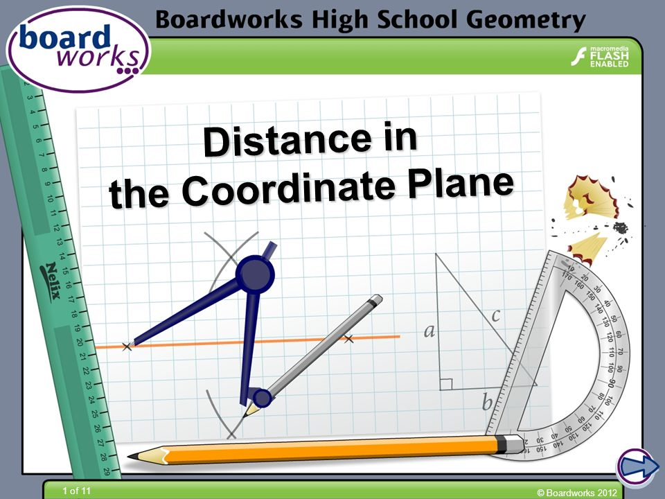 Distance in the Coordinate Plane