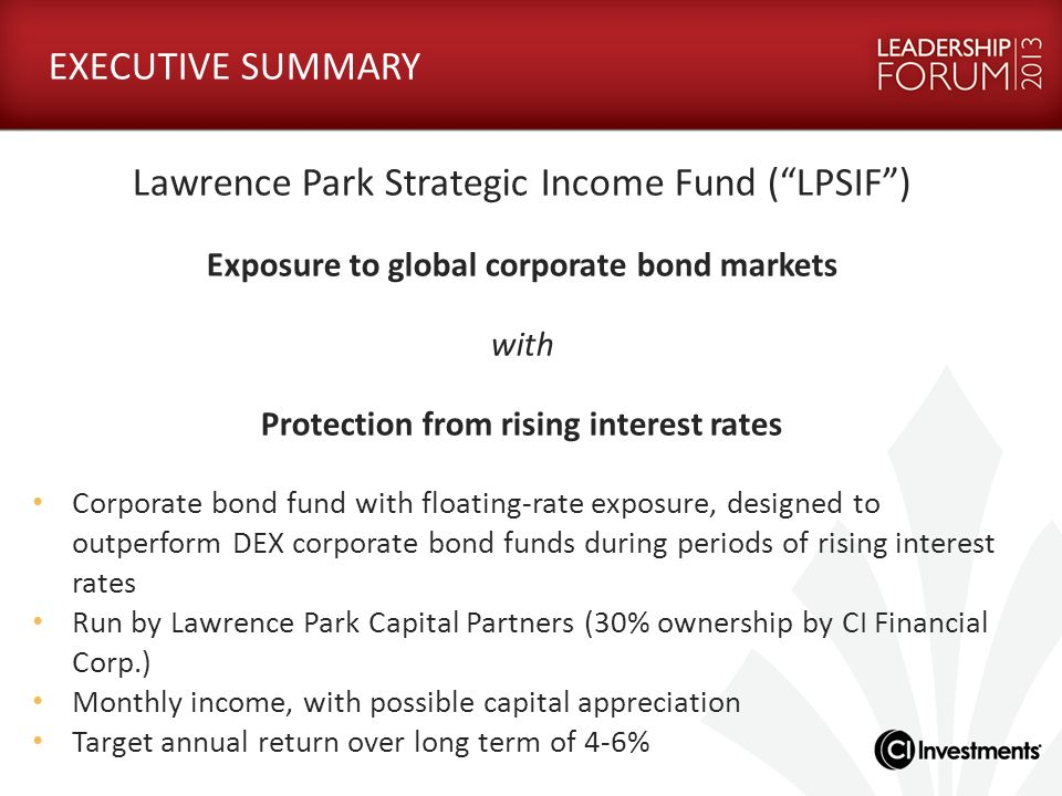 Lawrence Park Strategic Income Fund ( LPSIF )