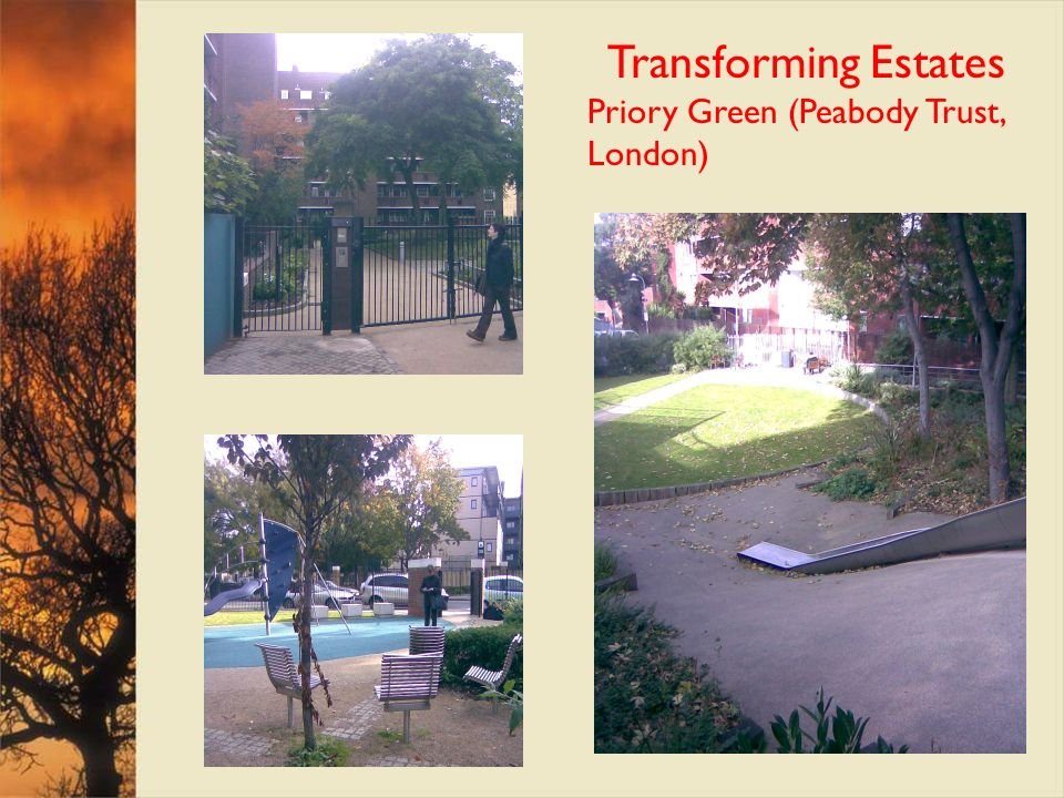 Transforming Estates Priory Green (Peabody Trust, London)