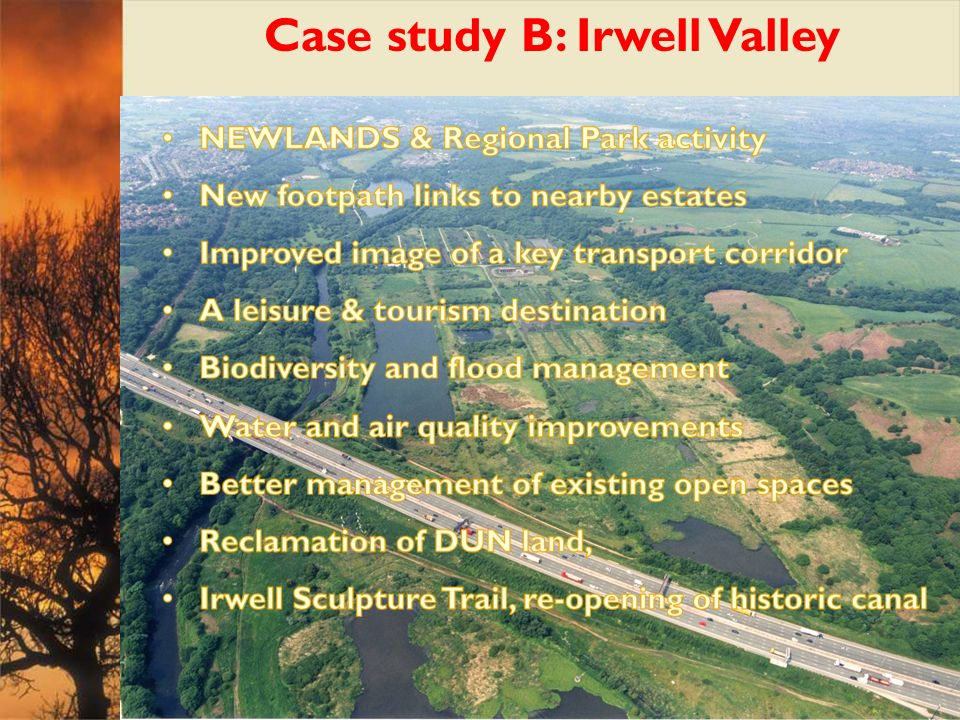 Case study B: Irwell Valley