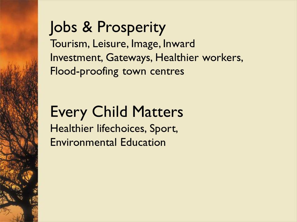 Jobs & Prosperity Every Child Matters