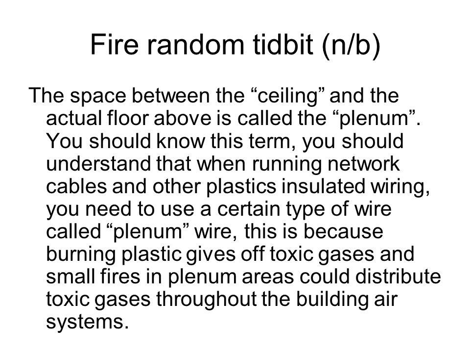 Fire random tidbit (n/b)