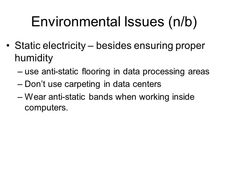 Environmental Issues (n/b)
