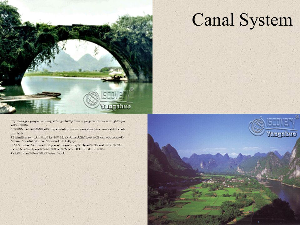 Canal System