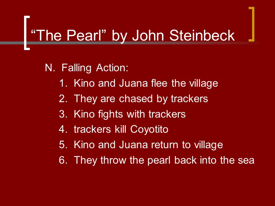 the relationship of juana and kino in the pearl by john steinbeck The oprah show, o magazine, oprah radio, angel network, harpo films and oprah's book club humanity's struggle with violence illustrated in steinbeck's the pearl - the pearl written by john steinbeck is a parable, a story that teaches a moral lesson.