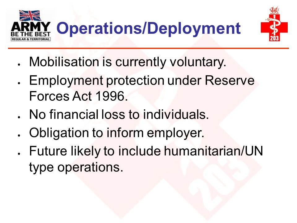 Operations/Deployment
