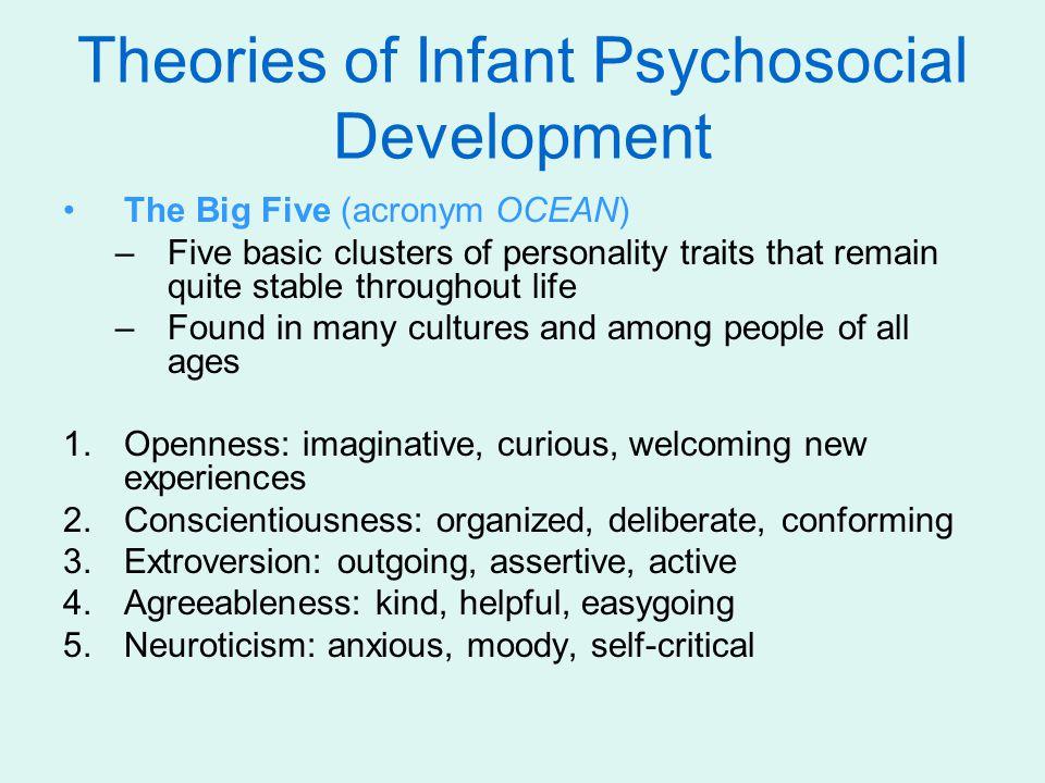 Theories of Infant Psychosocial Development