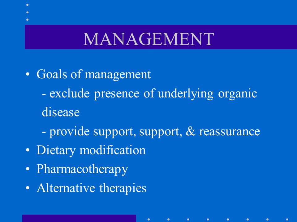 MANAGEMENT Goals of management