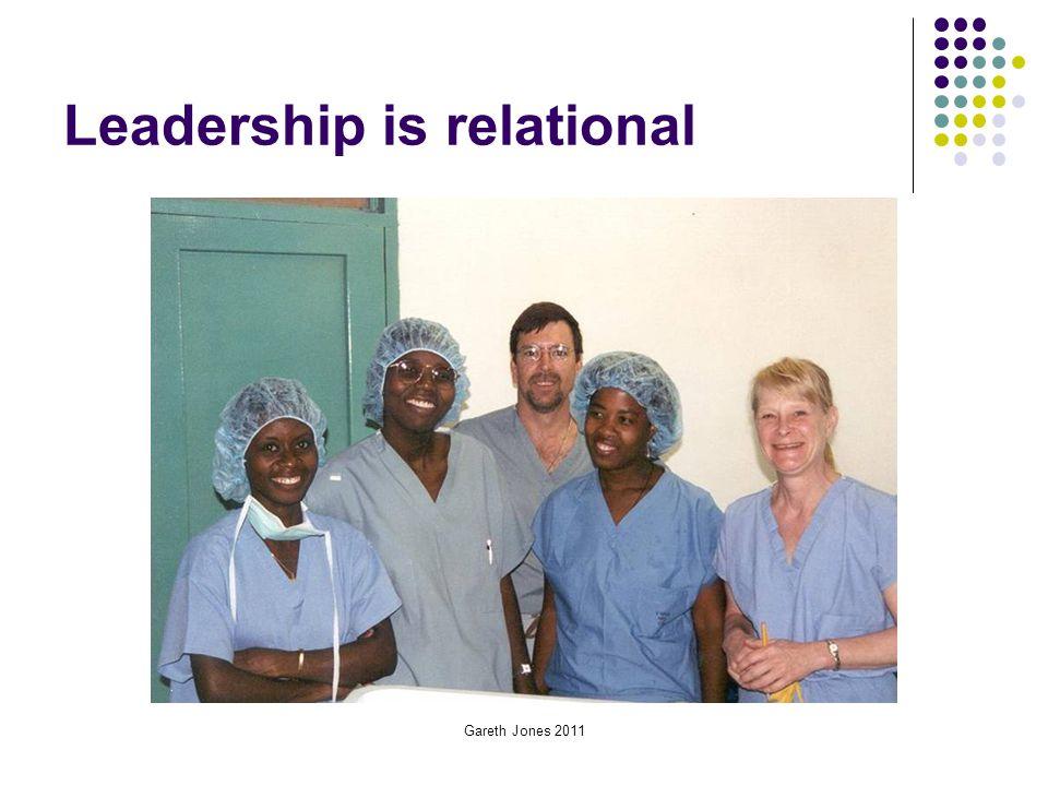 Leadership is relational