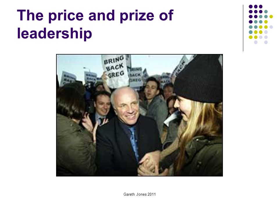 The price and prize of leadership