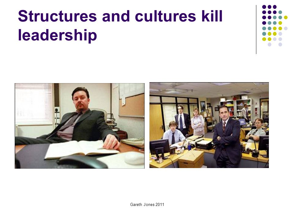 Structures and cultures kill leadership
