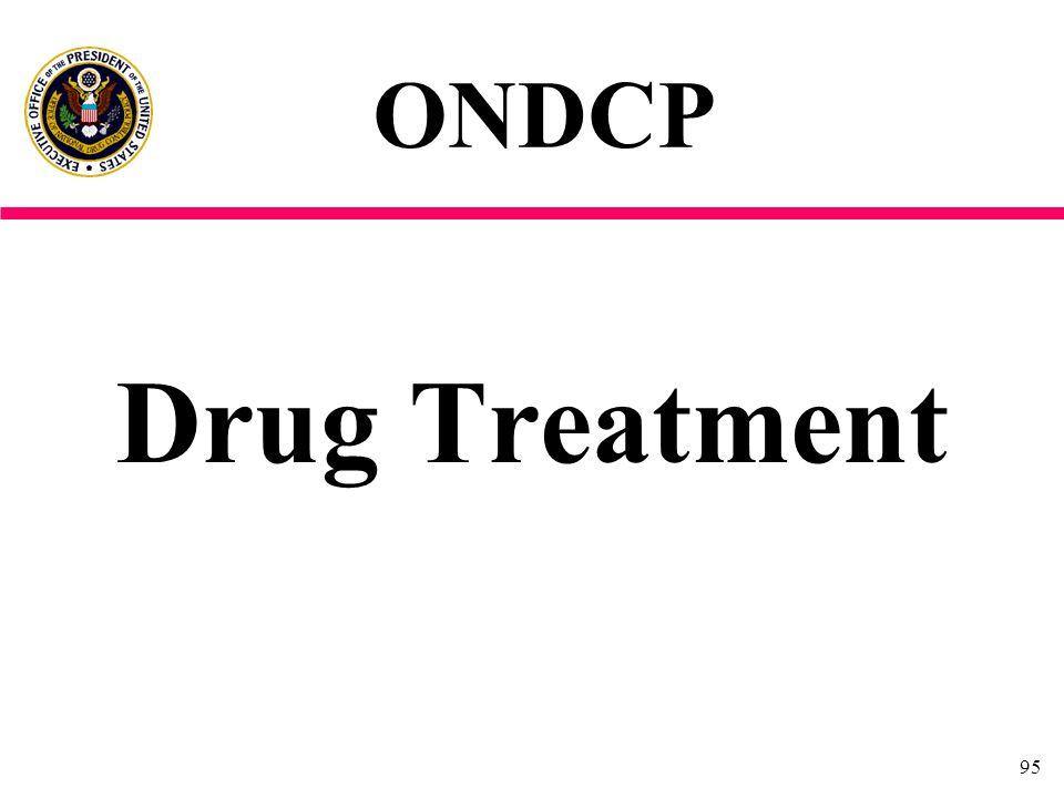ONDCP Drug Treatment
