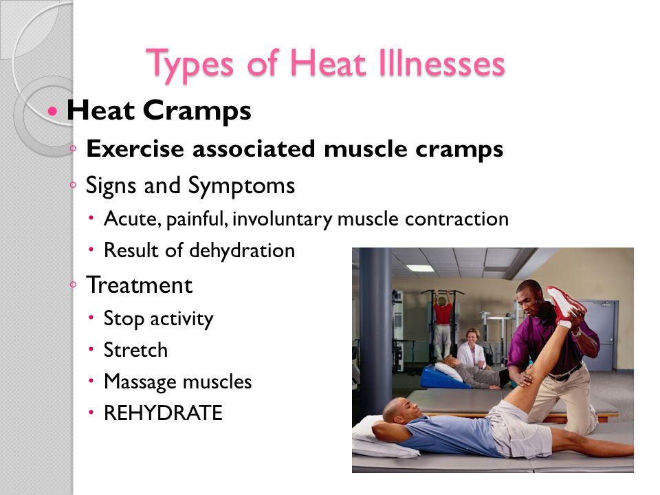 Types of Heat Illnesses