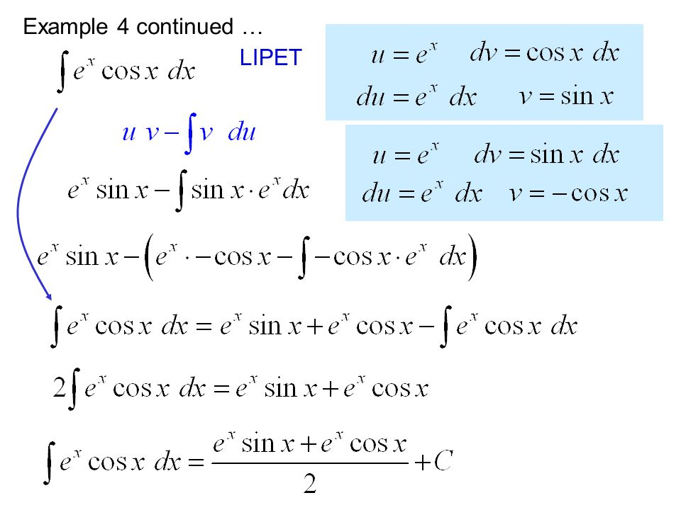 Example 4 continued … LIPET