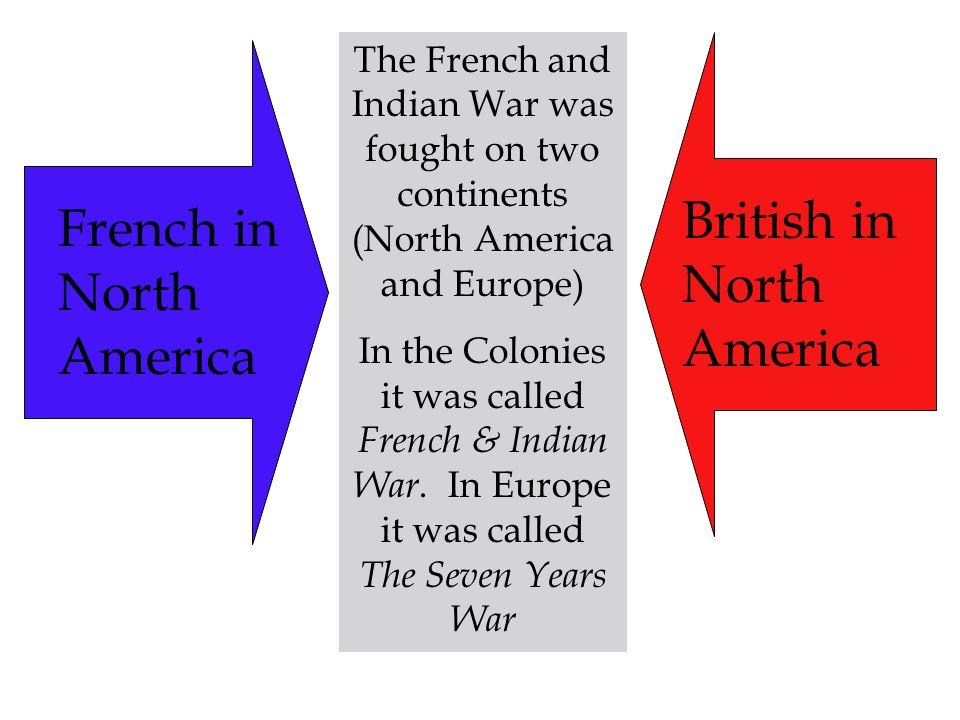 British in North America French in North America