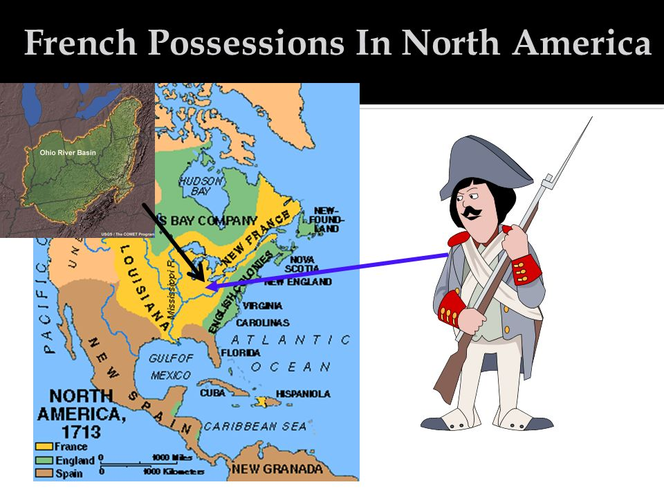 French Possessions In North America