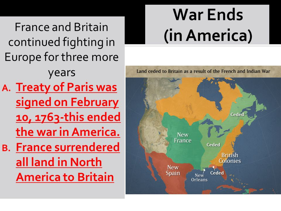 France and Britain continued fighting in Europe for three more years