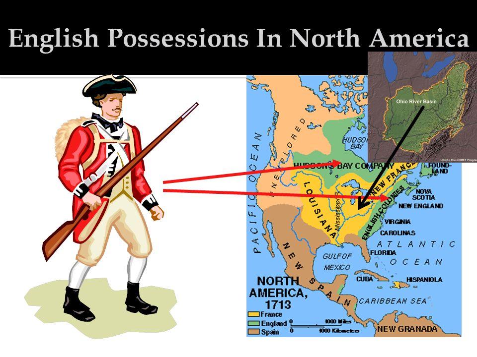 English Possessions In North America