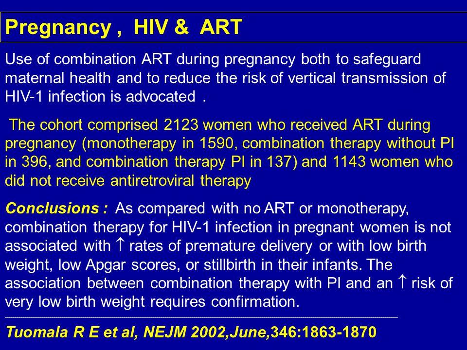Pregnancy , HIV & ART