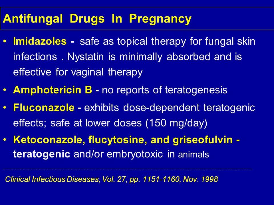 Antifungal Drugs In Pregnancy