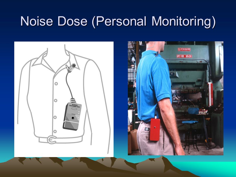 Noise Dose (Personal Monitoring)