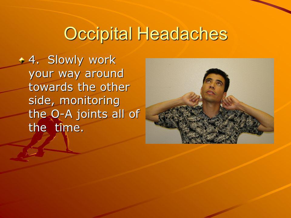 Occipital Headaches 4.