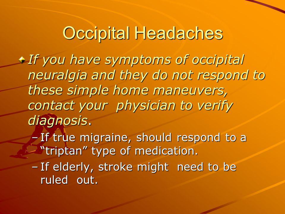 Occipital Headaches