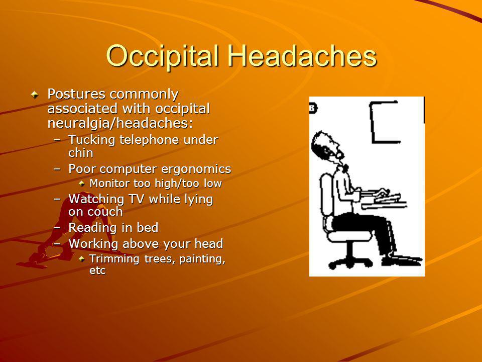 Occipital Headaches Occipital Neuralgia Ppt Video