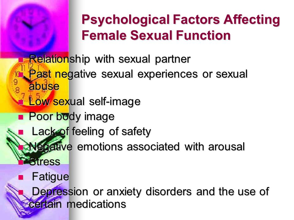 Psychological Factors Affecting Female Sexual Function