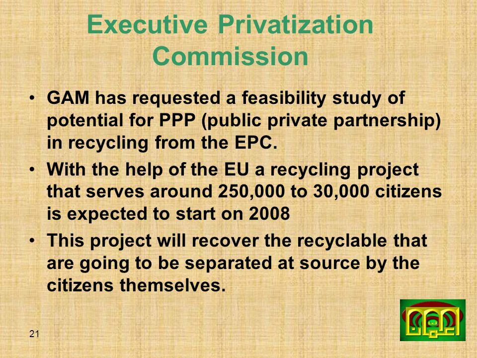 Executive Privatization Commission