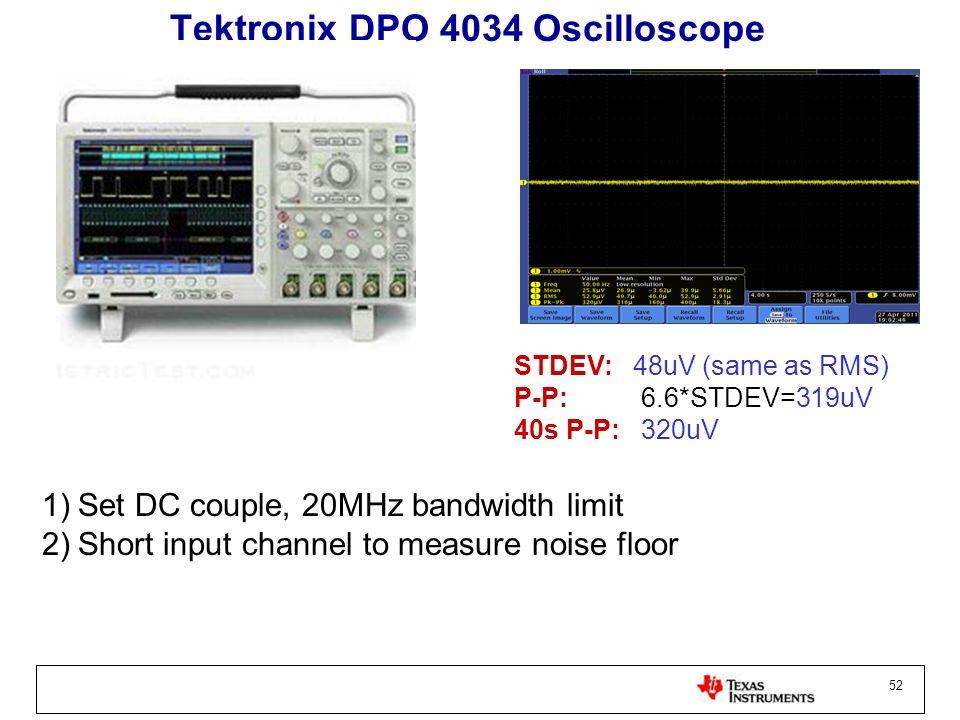Tektronix DPO 4034 Oscilloscope