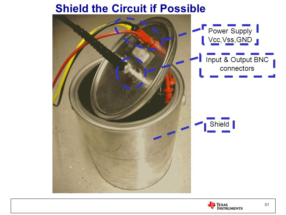 Shield the Circuit if Possible
