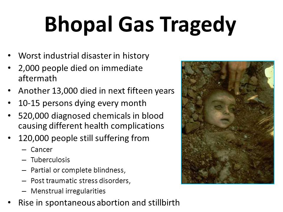 Bhopal Gas Tragedy Worst industrial disaster in history