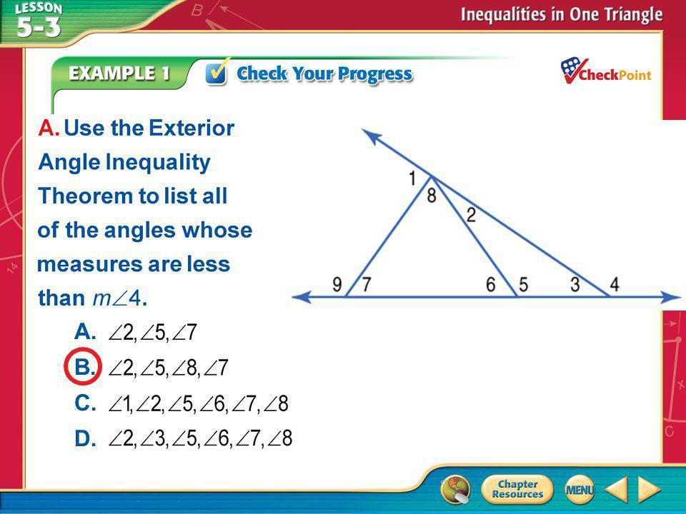 A B C D A. B. C. D. Example 1